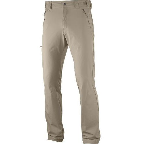Salomon wayfarer spodnie długie mężczyźni beżowy 48 2017 spodnie turystyczne