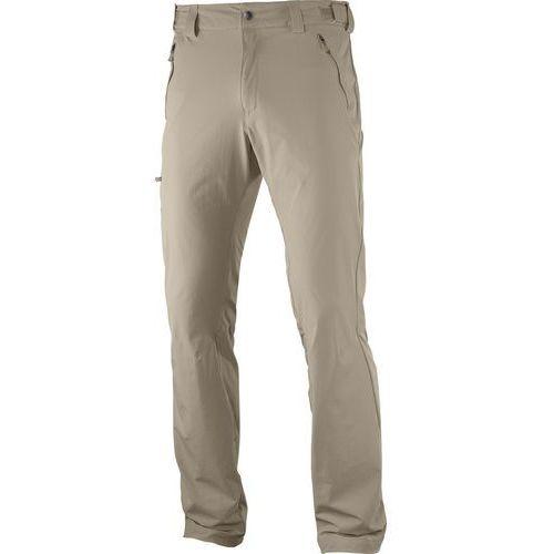 Salomon wayfarer spodnie długie mężczyźni beżowy 56 2017 spodnie turystyczne