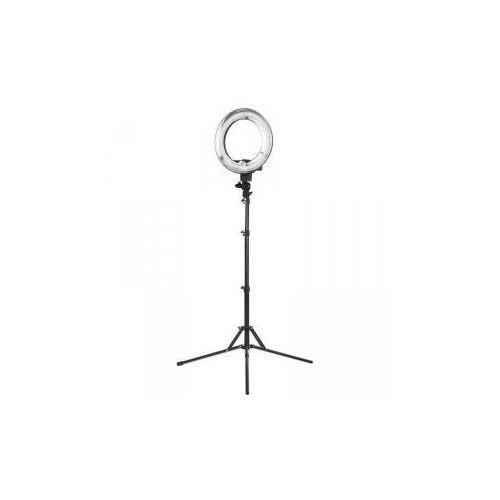 """Vanity_a Lampa pierścieniowa ring light 12"""" 35w fluorescent czarna + statyw"""