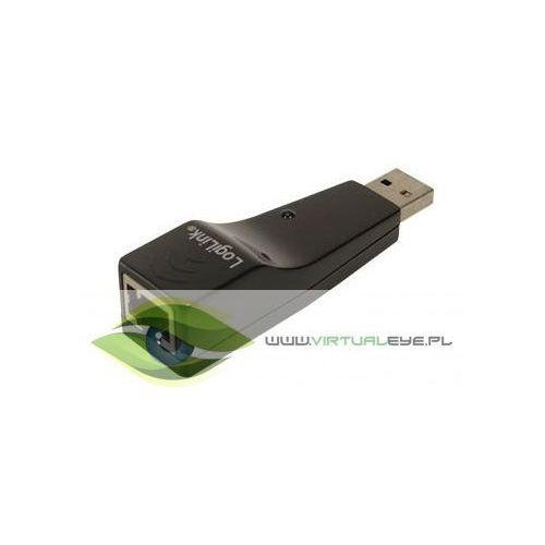 LogiLink Adapter USB 2.0 do Fast Ethernet (RJ45) (4260113566596)