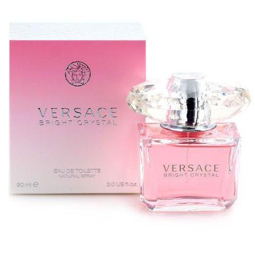 Versace  bright crystal zestaw - woda toaletowa 90 ml spray + balsam do ciała 100 ml (8011003800643)