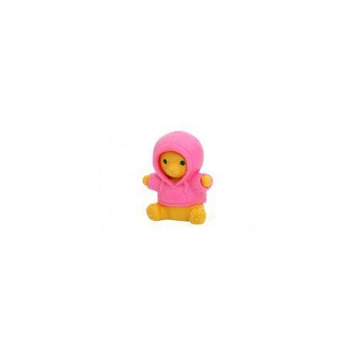 Iwako Gumka do ścierania - miś w różowym sweterku