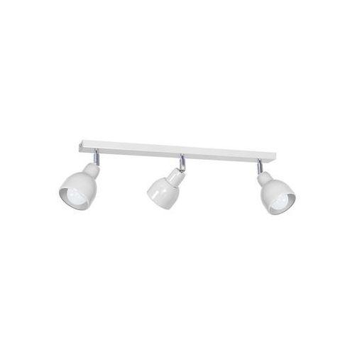 Oświetlenie punktowe pik 3xe27/60w/230v biały marki Decoland