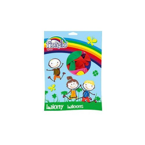 Balony metaliczne Fiorello mix kolorów 100 sztuk (6913749996104)