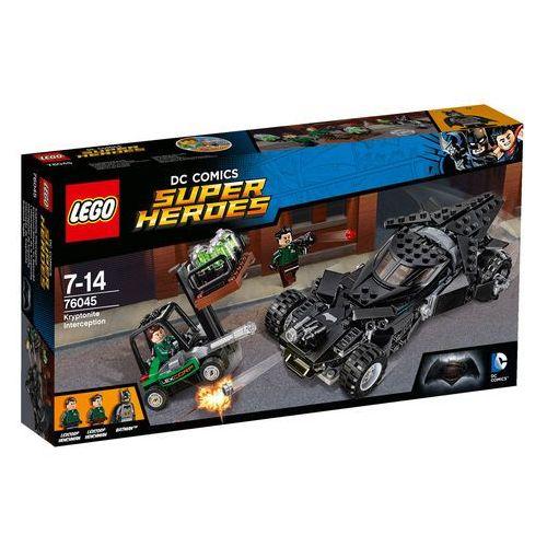 Lego SUPER HEROES Przechwycenie kryptonitu (kryptonite interception) - 76045. Najniższe ceny, najlepsze promocje w sklepach, opinie.