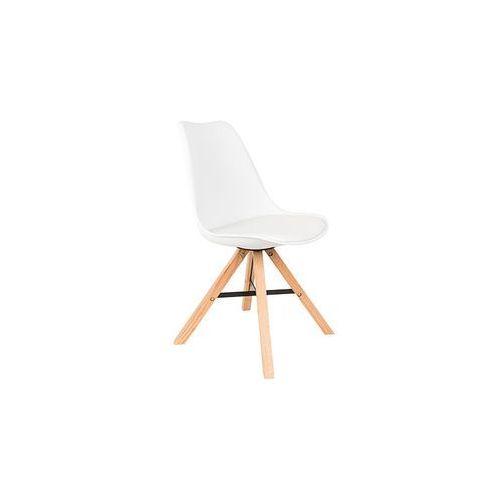 krzesło kell białe 1100302 1100302 marki Orange line