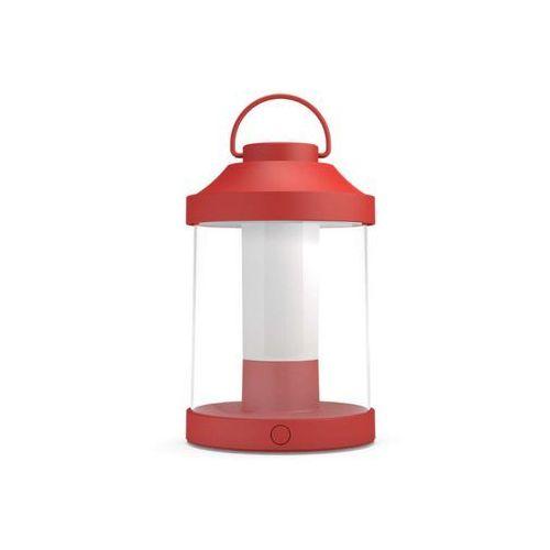 Massive Lampa biurkowa Abelia czerwony LED