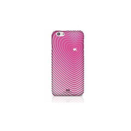 White diamonds Obudowa dla telefonów komórkowych  heartbeat dla iphone 6 (wd-1310hbt41) różowy