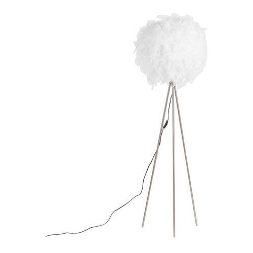 Romantyczna lampa stojąca biała - pióro marki Qazqa