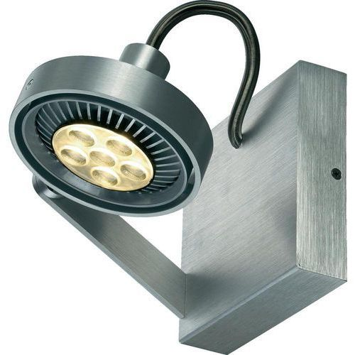 Lampa ścienna SLV Kalu II Single 147706, GU10, (SxW) 16 cm x 20.5 cm, aluminiowy (szczotkowany)