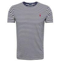 POLO RALPH LAUREN Koszulka 'SSCNCMSLM7-SHORT SLEEVE-T-SHIRT' navy / rot / weiß, kolor niebieski