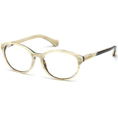 Okulary korekcyjne ba5008 065 marki Balenciaga