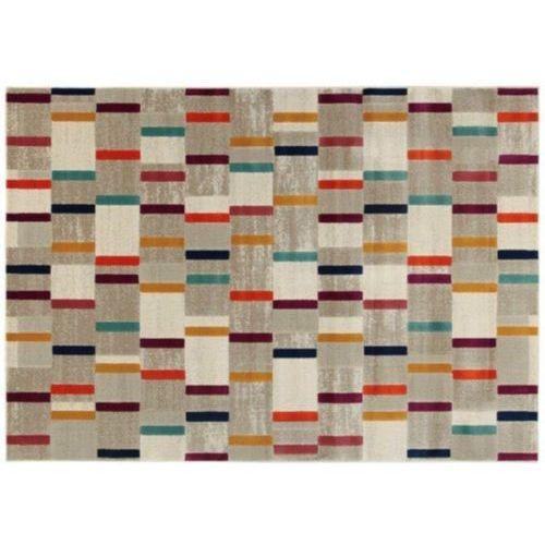 Dywan dash w stylu współczesnym – polipropylen i juta – 160 × 230 cm – wielokolorowy marki Vente-unique