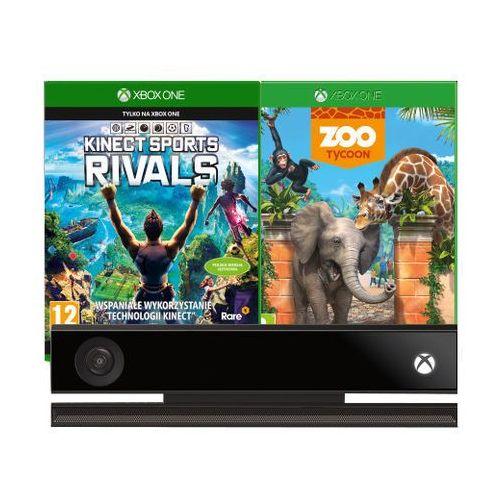 Sensor ruchu kinect xbox one+sports rivals+zoo marki Microsoft