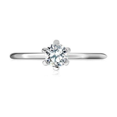 Yes rings collection - srebrny pierścionek z cyrkonią marki Biżuteria yes