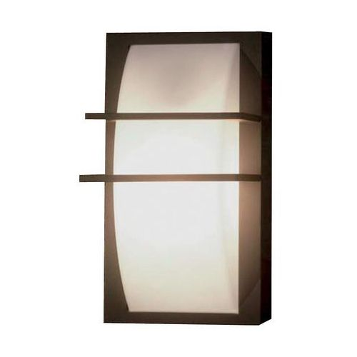 Zewnętrzna LAMPA ścienna SVEN 1W Elstead elewacyjna OPRAWA ogrodowa KINKIET na taras outdoor IP54 biały grafitowy (5024005374619)