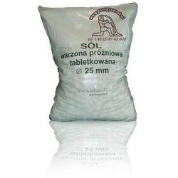 Sól tabletkowana, sól tabletkowa, sól pastylkowana, tabletki solne - 25kg