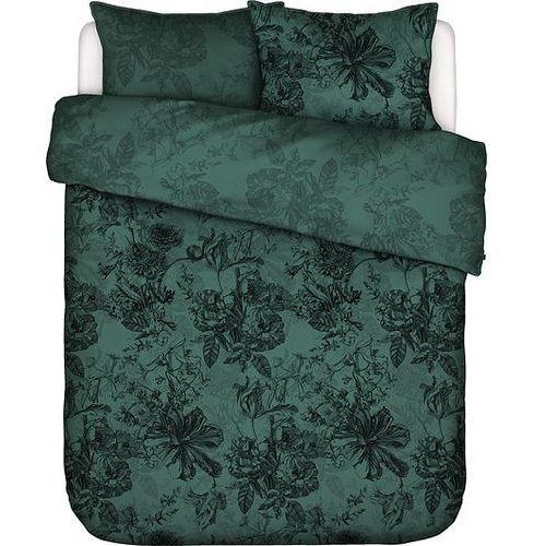 Pościel Vivienne ciemnozielona 200 x 200 cm z 2 poszewkami na poduszki 80 x 80 cm, 401356-100DE-003