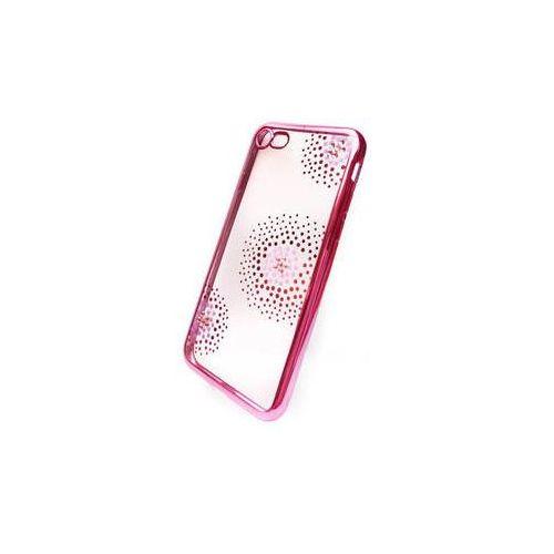 Obudowa dla telefonów komórkowych Beeyo Flower Dots pro Apple iPhone 7 (BEAAPIP7TPUFLPI) Różowy, kolor różowy