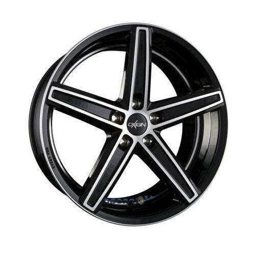 Oxigin 18 concave black full polish mit hinterdrehung (bfphd) einteilig 8.50 x 18 et 35