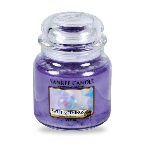sweet nothings 411 g świeczka zapachowa marki Yankee candle