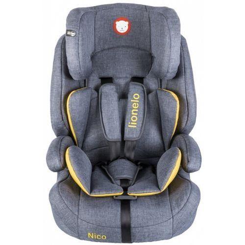 Fotelik 9-36 kg nico yellow marki Lionelo