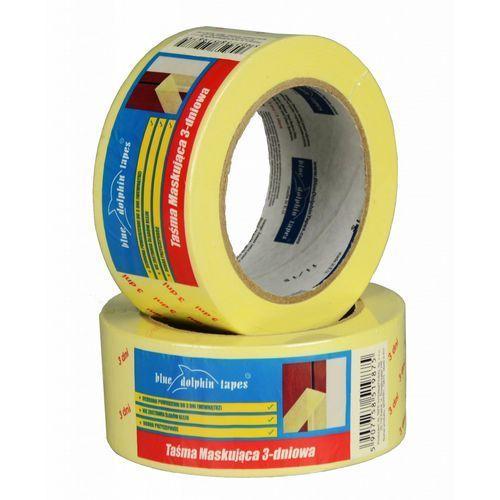 Taśma maskująca MT-PPR (Y) 30mmX50m taśma papierowa żółta BLUEDOLPHIN