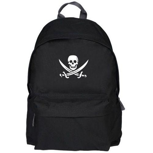 Plecak pirackie szable - czaszka marki Megakoszulki