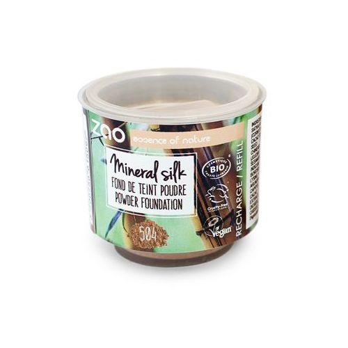 Podkład mineralny w pudrze zao - wkład - 504 - neutralny beż marki Zao - make up organic