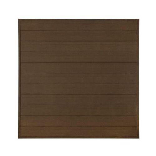 Płot kompozytowy 173x173 cm brązowy wpc marki Winfloor