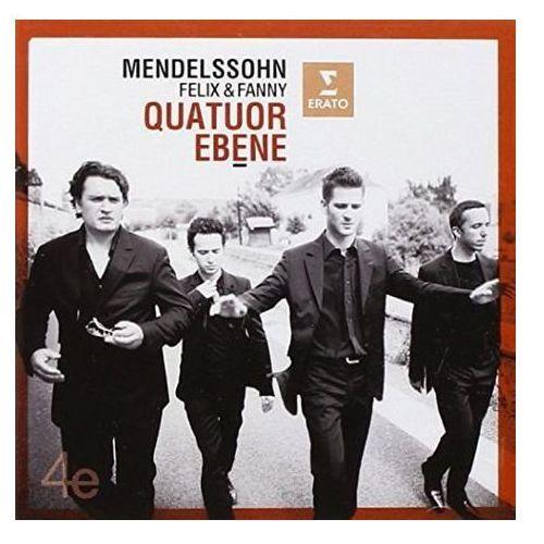 STRING QUARTETS OP. 13 IN A MINOR, OP. 80 IN F MINOR AND QUARTET IN E FLAT MAJOR - Quatuor Ebene (Płyta CD) (5099946454621)