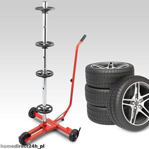 Stojak wózek do kół koła warsztatowy samochodowy marki Eu-trade