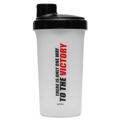 "Beltor shaker 700ml trans-black ""there is only one whey to the victory"" (2010000523797)"