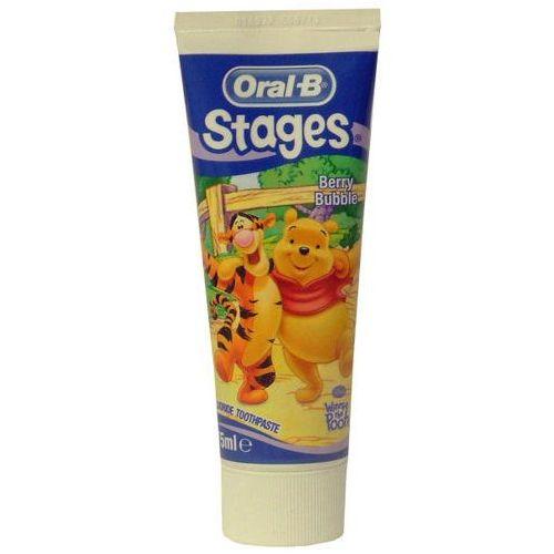 Oral B Pro-Expert Stages Mickey Mouse pasta do zębów dla dzieci smak Berry Bubble (Anticavity Fluoride Toothpaste) 75 ml, 101855