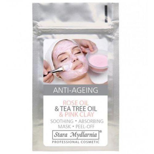 Stara mydlarnia Kojąca maska do twarzy z różową glinką, olejkiem różanym 25g