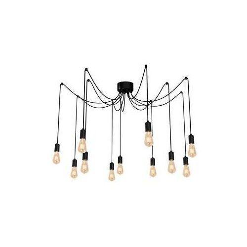 spindel 4015 lampa wisząca zwis 11x60w e27 czarny marki Luminex