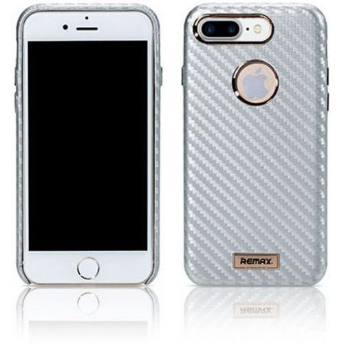 Etui Remax Carbon Series Case for iPhone 7 Plus Silver (2000047505016)
