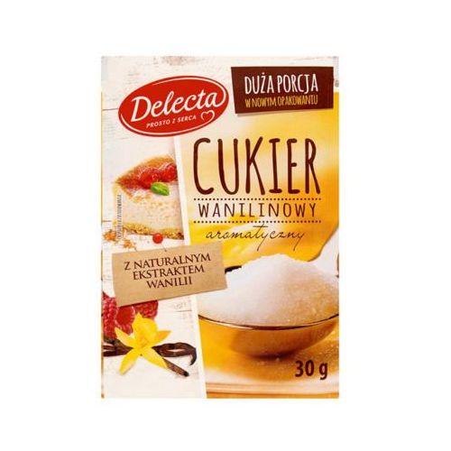 30g cukier wanilinowy z naturalnym ekstraktem wanilii marki Delecta