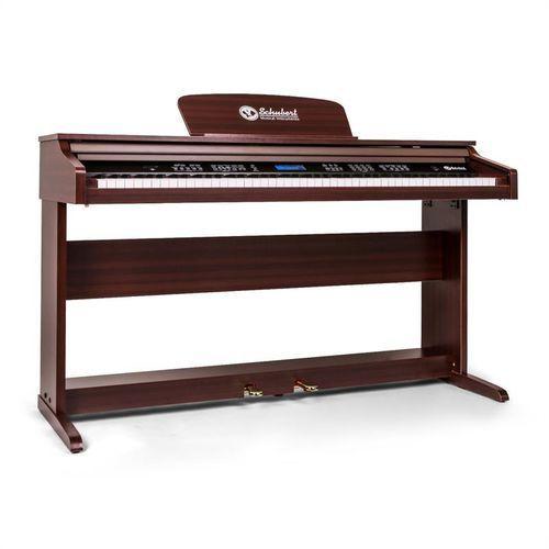OKAZJA - subi88p2 pianino cyfrowe 88 klawiszy brązowe marki Schubert