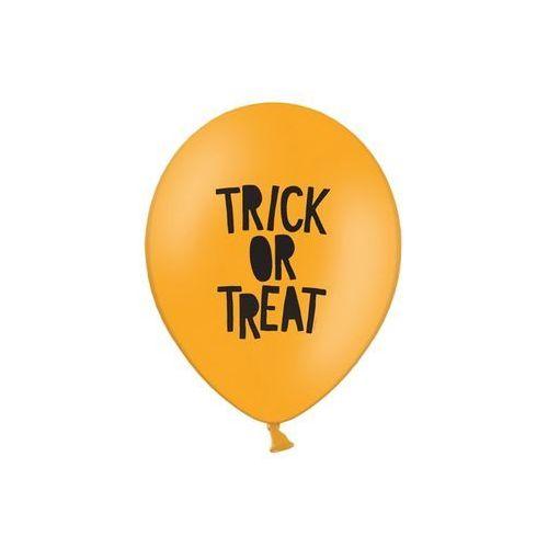 Party deco Balony z nadrukiem trick or treat 30 cm - 50 szt