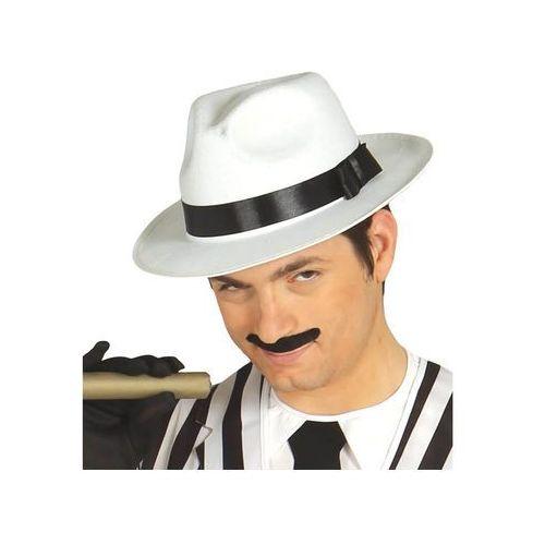 Twojestroje.pl Kapelusz gangster filc biały