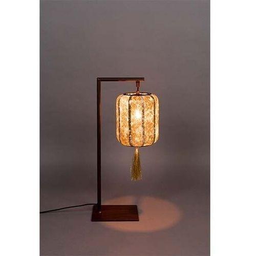 lampa stołowa suoni złota 5200094 marki Dutchbone