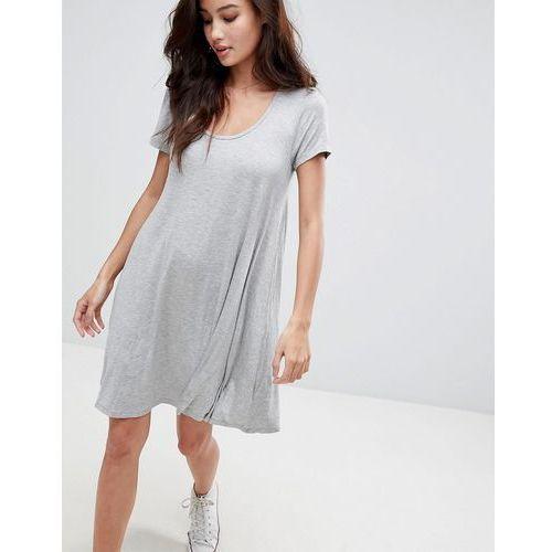 swing dress with keyhole back detail - grey, Brave soul, 32-36
