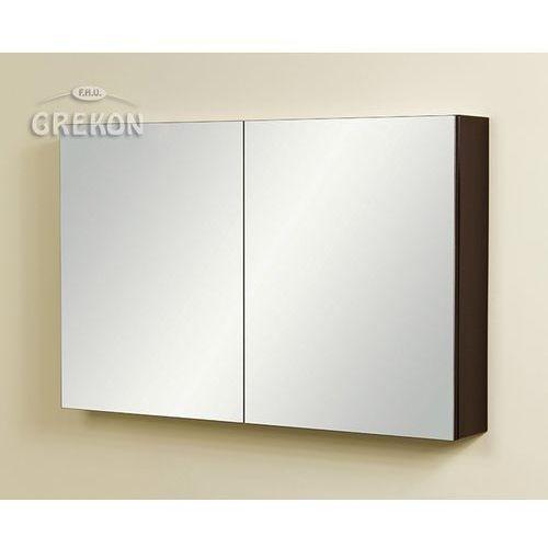 Szafka wisząca z lustrem fks-wp-wl100/65 fokus wenge połysk marki Gante