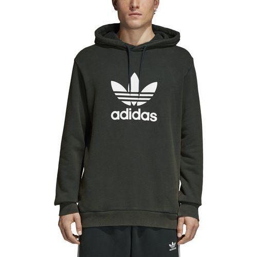 Adidas Bluza z kapturem trefoil warm-up cw1242