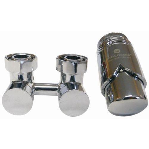 Schlosser Exclusive zestaw armatury dolny prosty Chrom 3/4 x M22x1,5 6010 00025