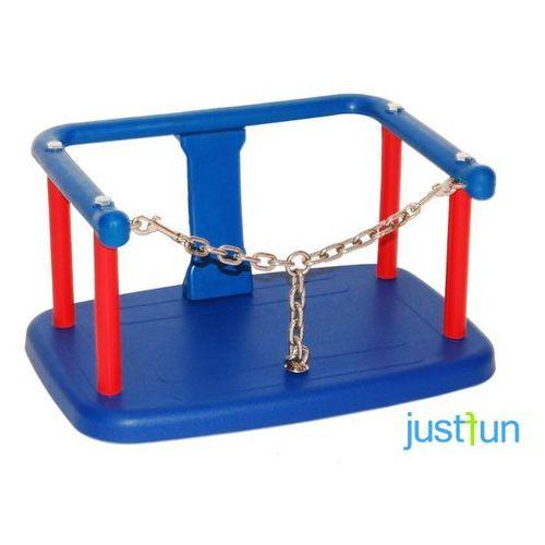 siedzisko kubełkowe z łańcuszkiem na łańcuchu (ocynk) 6mm 1,8m - niebieski marki Gigi toys