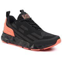Sneakersy EA7 EMPORIO ARMANI - X8X033 XCC52 M538 Black/Orange Fluo