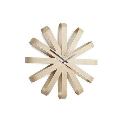 Zegar Ribon drewniany, D2-7121
