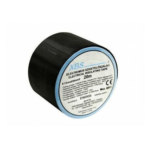 Taśma izolacyjna PVC 0,13x50mm 20m czarna SZ50/B XBS 0218 (4715262350218)